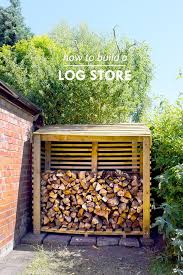 best 25 log store plans ideas on pinterest wood shed wood