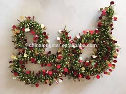 ornaments plastic tinsel garland decorations buy