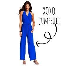 xoxo jumpsuits 62 xoxo xoxo jumpsuit from may s closet on