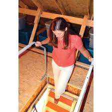 make your fold down attic ladder safer with this convenient safety