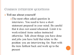 most questions in job interview interview questions by sachin ppt download