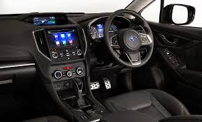 subaru xv interior next generation subaru xv will help make small suv sales great