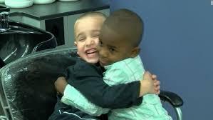 cnn haircuts the message of love in this boy s haircut cnn video