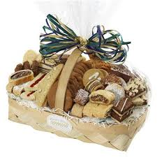 sympathy pastry cookie basket island delivery