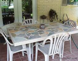 Replacement Glass Table Top For Patio Furniture Best 25 Tile Top Tables Ideas On Pinterest Outdoor Tile For