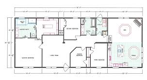 4 Bedroom Home Floor Plans 4 Bedroom Floor Plan F 663 Hawks Homes Manufactured U0026 Modular