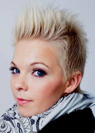 short hairstyles short spiky hairstyles for round faces short