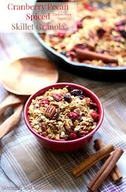stove top gluten free cranberry pecan spiced skillet granola pm1 jpg