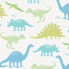 Dinosaur Double Duvet Seafoam Aqua And Pastel Green Dinosaurs Duvet Cover Carousel Designs
