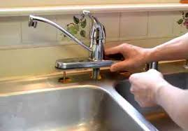 Replacing A Kitchen Faucet by How To Fix A Leaky Kitchen Faucet In Seven Simple Steps