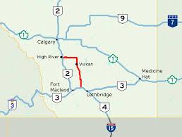 Calgary Alberta Canada Map by Alberta Highway 23 Wikipedia