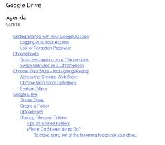 Google Doc Table Of Contents The Techy Coach Blog October 2016