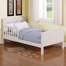Toddler Bed With Rail Wood Toddler Bed Oakwood Wood Low Loft Bed With Storage Costway