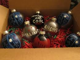 painted doctor who ornaments by gojyochan on deviantart