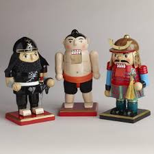 asian nutcrackers set of 3 world market