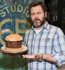 nick offerman on swanson s thanksgiving and favorite recipes