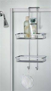 interdesign over the shower door steel hanging shower caddy