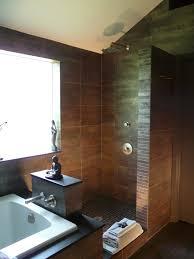 Contemporary Bathtub Faucets Open Bath Bathroom Contemporary With Sloped Ceilings Contemporary