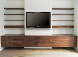 Wall Shelf Ideas For Living Room Fresco Of Media Wall Shelves Designs U0026 Pictures Storage Ideas