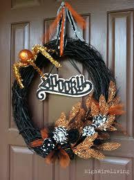 Halloween Spider Wreath by Spooky Halloween Door Wreaths Designs Decorating Kopyok Interior