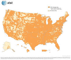 United States On A Map by Gps Cellular Network Coverage Maps Plug N Track Gps