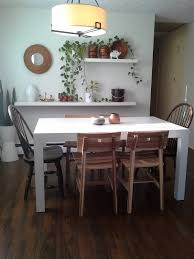 Room And Board Dining Room by Ikea Skogsta Chair Parsons Dining Table Furnishings Pinterest