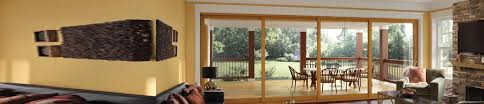 Sliding Glass Pocket Doors Exterior Glass Pocket Doors Pocket Glass Wall Systems Milgard Windows