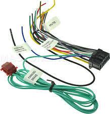 pioneer dvd wiring harness ebay