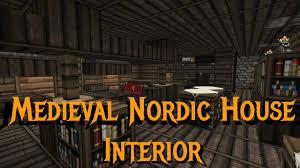 minecraft gundahar tutorials medieval nordic house interior idolza