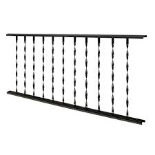 Udecx Home Depot by Village Ironsmith Deck U0026 Porch Railings Decking The Home Depot