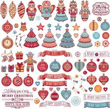 christmas decorations for cards part 28 original drawing design