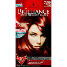 how to mix schwarzkopf hair color schwarzkopf brilliance 43 red passion 1pk woolworths