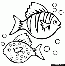 coloring pages for fish aecost net aecost net
