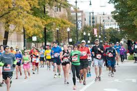 Chicago Marathon Map Chicago Marathon On Campus Uic Today