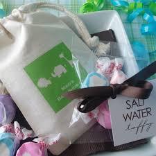 salt water taffy wedding favor salt water taffy baby shower favors