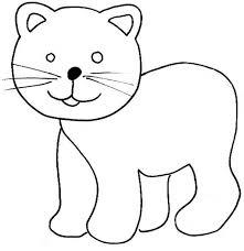 imágenes de gatos fáciles para dibujar dibujos para colorear de gatos dibujoswiki com