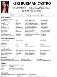 Example Of A Dance Resume Ideas Of Sample Dance Resume For Audition For Your Sample