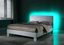 platform bed with led lights platform bed with lights underneath king size bed frame with storage