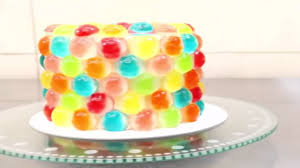 how to decorate a cake at home how to make gummy bears at home i gummy bear birthday cake youtube