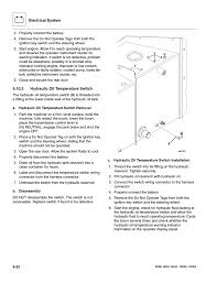 2 hydraulic oil temperature switch hydraulic oil temperature