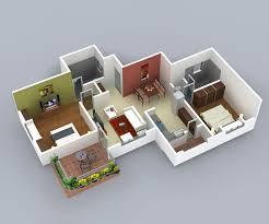 2 bhk flat design plans enclave residential apartment at nagala park kolhapur