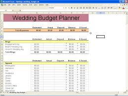 Printable Budget Spreadsheet by Free Printable Budget Wedding Checklist 1 Wedding Spreadsheet