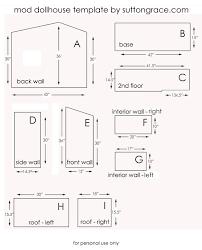 free dollhouse floor plans 28 fantastic dollhouse blueprints woodworking plans egorlin com