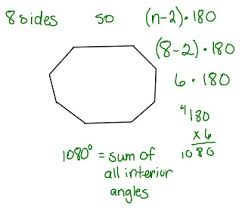 The Sum Of Interior Angles Interior Angles Sum Of A Trapezoid Okayimage Com