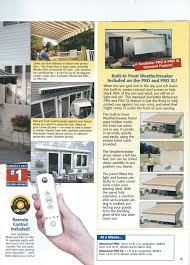 Awning Remote Control Shade One Awnings Is Your Local Sunsetter Retractable Patio Awning