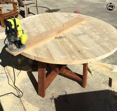 Plans For Building A Round Picnic Table by