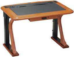 Computer Desk Hard Wood Artistic Computer Desk Petite Caretta Workspace
