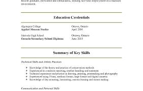 resume waitress skills resume awesome pre written resume server