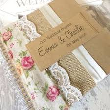 Shabby Chic Wedding Guest Book by Shabby Chic Wedding Guest Book Scrapbook Burlap By Jennypie5