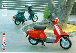 yamaha riva 50 salient motor scooter guide